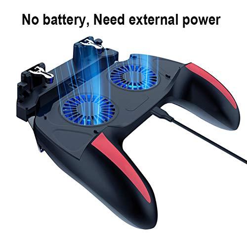 Gamepad für PUBG Controller Double Cool Lüfter 2500 / 5000mAh Power...