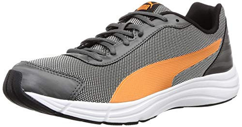 Puma Men's Explorer Idp Dark Shadow-Jaffa Orange Running Shoes-10 UK (19319704)