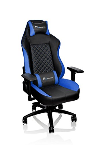 Tt eSPORTS Gaming Chair GC-GTC-BLLFDL-01 (GT-Comfort 500) blue