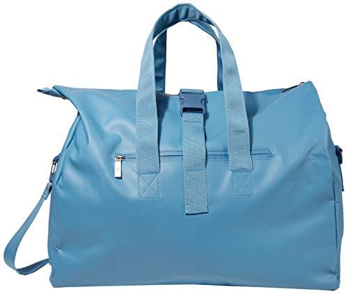 BREE Unisex-Erwachsene PNCH 722 messenger bag S Umhängetasche, Blau (Provincial Blue), 25x44x50 cm