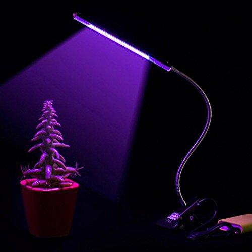 Usine LED lumière LED à spectre complet remplissage de la croissance des plantes bleu rouge lampe lumière plante