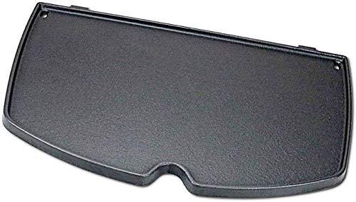 Votenli C655H(1-Pack) Cast Iron Griddle Accessories for Weber Q100, Q1000, Q1200 Series Grills, Weber 6558
