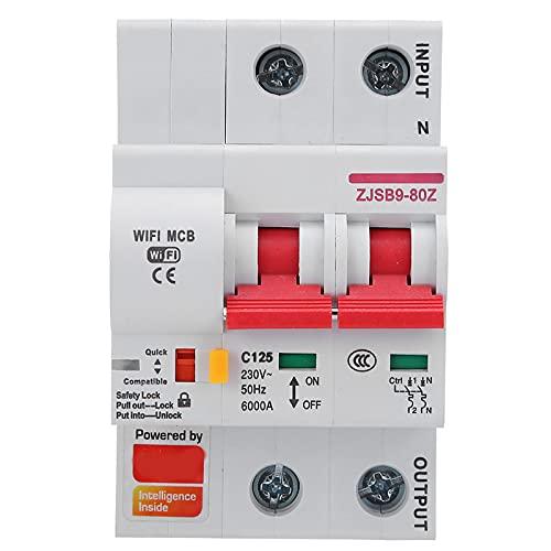 Disyuntor móvil de WiFi, Condiciones estándar de la sobretensión de la cerradura de seguridad de la inspección de la fuente de alimentación de la casa de circuito de la rama Material ignífugo