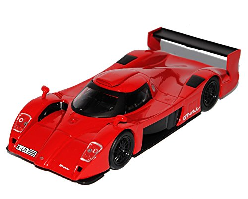 Unbekannt Toyota GT-One Le Mans 24H Rot Coupe 1/43 Modellcarsonline Modell Auto
