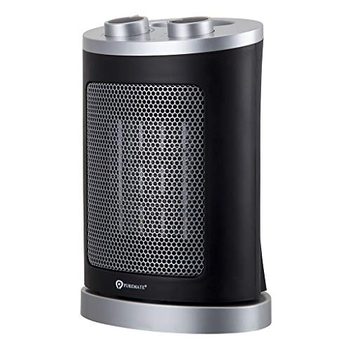 PureMate 1500W Oscillating Portable Ceramic Fan...