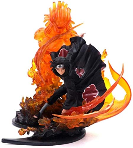 XXSDDM-WJ Gift Toys Action Figures Toys Uchiha Itachi Fire Sasuke Susanoo PVC Action Figure Relation Collection Model -A approx. 21cm high EPKF151