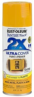 Rust-Oleum 249862 Painter's Touch Multi Purpose Spray Paint, 12-Ounce, Marigold