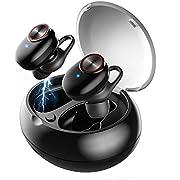 Bluetooth Kopfhörer, UTRAI Kopfhörer Kabellos in Ear Ohrhörer Bluetooth 5.0 Headset Sport Wireless Earbuds, HD Stereo Sound, IPX5 Wasserdicht, 2 Modi, Ladebox, CVC Noise Cancelling