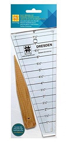 EZ Quilting 882700 Easy Dresden Quilt-Werkzeug-Set