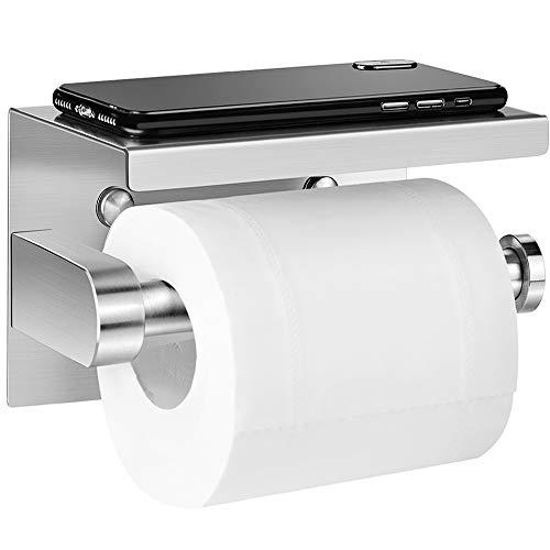 Aikzik Portarrollos de papel higiénico sin taladros,