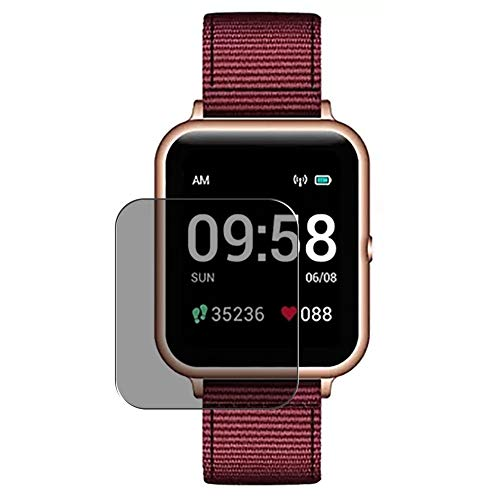 Vaxson Anti Spy Schutzfolie, kompatibel mit Lenovo S2 Smartwatch smart watch, Displayschutzfolie Privatsphäre Schützen [nicht Panzerglas]