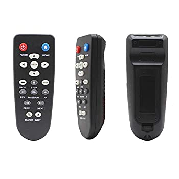 New Replacement Remote Control fit for WD Western Digital TV Live Plus Hub Steaming 1st 2nd 3rd and 4th Mini HD Hub Media Player