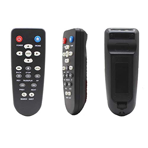 New Replacement Remote Control fit for WD Western Digital TV Live Plus Hub Steaming 1st, 2nd, 3rd and 4th Mini HD Hub Media Player