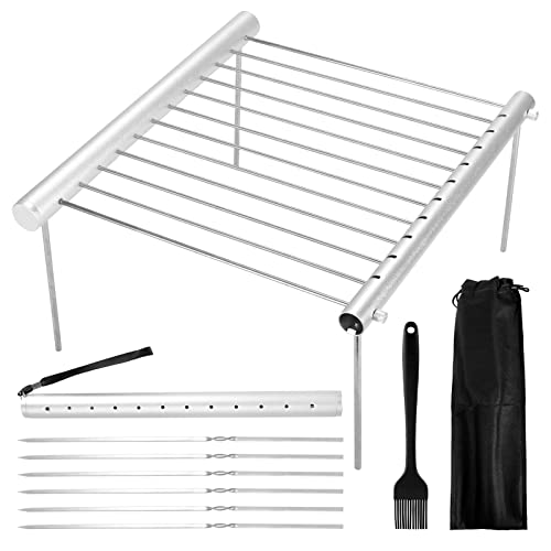 LAOYE Klappbarer Grillrost Camping Grill...
