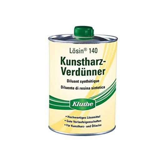 Kluthe Langsamflüchtiger Kunstharzverdünner für Kunstharz-, Öllacke. Kunstharz-Verdünnung (1000 ml)