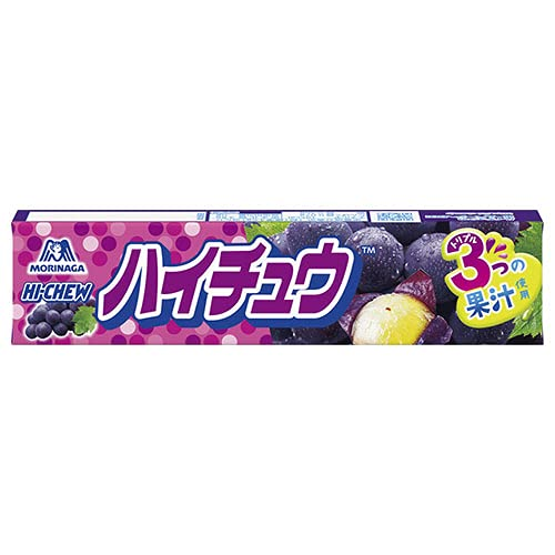 森永製菓 ハイチュウ グレープ 12粒×12個入×(2ケース)