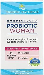 Nordic Naturals Nordic Flora Probiotic Woman - 60 Cápsulas 60 Unidades 70 g