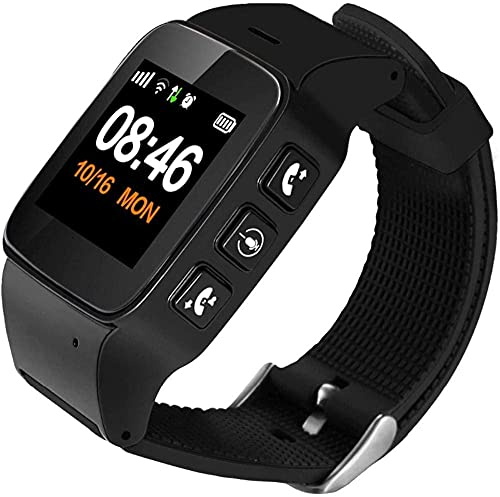 Smart Watch Detección de caídas Rastreador GPS GPS + LBS + Posicionamiento WiFi Botón de pánico SOS