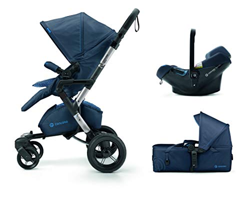 Concord Neo Mobility Set - Sistema modular neo + scout + air 0+, Color Steel Grey