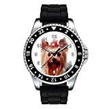 Timest - Yorkshire Terrier - Unisex Reloj con...