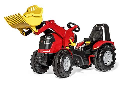 Rolly Toys rollyX-Trac Premium (für Kinder von 3-10 Jahre, verstellbarer Sitz, Flüsterlaufreifen, Zweigangschaltung, Handbremse) 651016