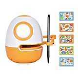WEDRAW Learning Toy Robot,Toy for Kids 3-8, ( Drawing ,Maze, Shape, Nature Knowledges), 50 Learning Games Courses,Interactive Toy, Kid s Learning Partner