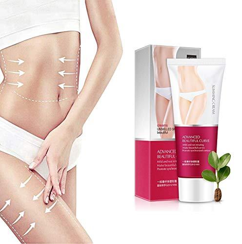 Koffeinverbrennungscreme, straffende Creme Bauchfettverbrenner für Frauen und Männer, abnehmende Körpercreme zum Formen von Taille, Bauch und Gesäß