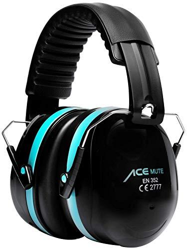 ACE Mute Kapselgehörschutz - Gehörschutz mit SNR 32 dB - EN 352-1 - Passiver Kapselgehörschützer mit starker Dämmung