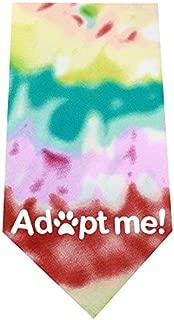 Mirage Pet Products Adopt Me Screen Print Bandana Tie Dye, One Size