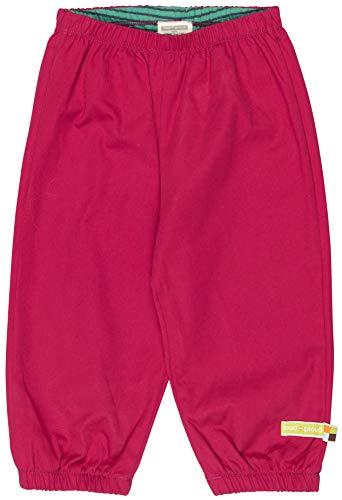 loud + proud Mädchen Wasserabweisende Bio Baumwolle, GOTS Zertifiziert Hose, Rosa (Berry Ber), 116 (Herstellergröße: 110/116)