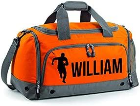 Personalised Rugby Boot Bag Customised Kids School PE Sports Gym Shoe Kit