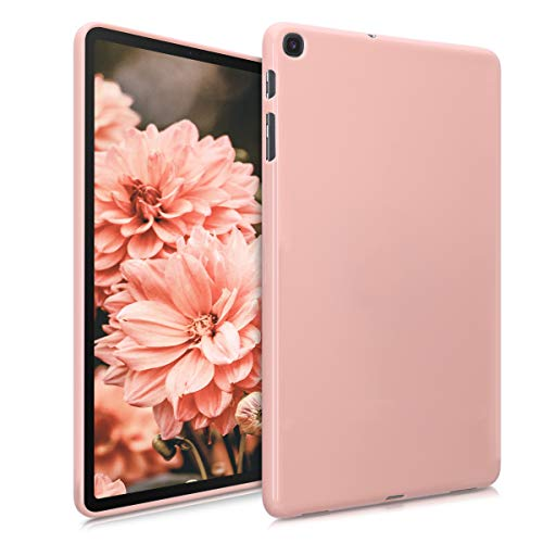 kwmobile Custodia Compatibile con Tablet Samsung Galaxy Tab A 10.1 (2019) - Cover in Silicone TPU - Backcover Copertina Protettiva Tab