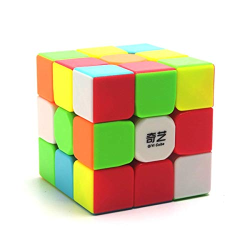 XMD QiYi Warrior W 3x3 Speed Cube 3x3x3 Stickerless Magic Cube Puzzles