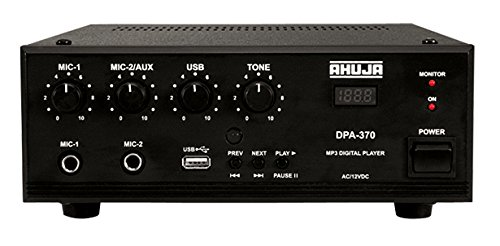AHUJA DPA-370 30 Watts PA Amplifier with Built-in Player