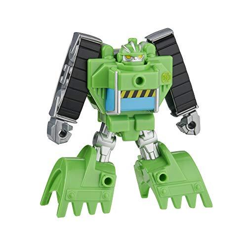Playskool Heroes Transformers Rescue Bots Academy Boulder The Construction-BOT Converting Toy, Figura de acción de 4.5 Pulgadas, Juguetes para niños de 3 años en adelante