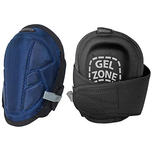 McGuire Nicholas 22382 Gel Lite Pro Flooring Kneepads in Navy/Black