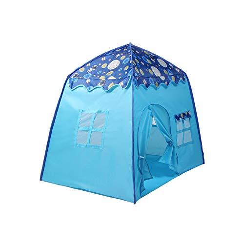 Yves25tate Spielzelt, Zelt für Jungen, Kinderzelt für drinnen und Outdoor, Tragbares Kinderspielzelt mit Tragetasche, Geschenk für Kinder
