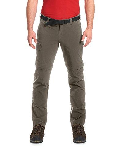 Maier Sports, Pantalon Homme Torid Slim avec Fermeture éclair, Gris (Gris - Teck), Taille 58