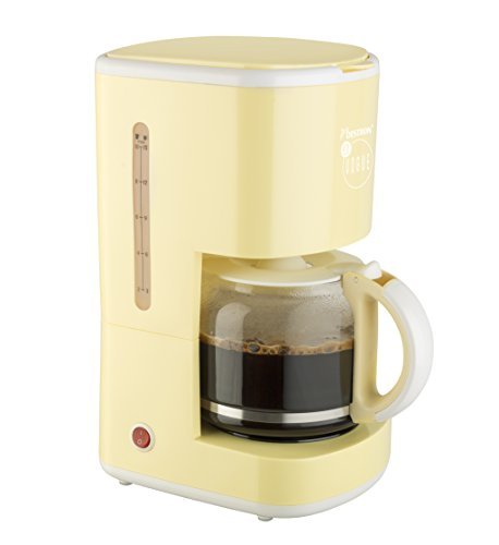 Bestron ACM300EVV Kaffeemaschine designed by Thomas Rath, vanille