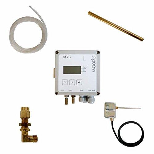 Wodtke Unterdruck Sicherheits Abschalter Differenzdruck Controller DS 01 L 095 350 Kaminofen
