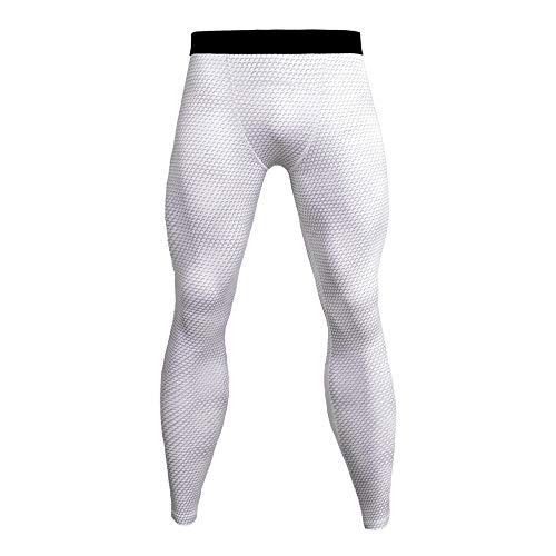 YUNSW Pantalon De Fitness pour Homme Pantalon De Course À Pied 3D Pantalon De Compression Slim Collants Collants Élastiques Pantalon À Séchage Rapide