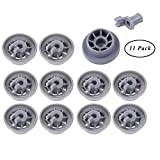Ruote lavastoviglie 165314 SUNSHINETEK 11 pezzi Ruote per carrelli inferiori per lavastovi...