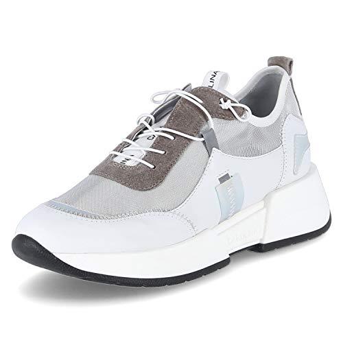 Donna Carolina Sneaker Margy Größe 37.5 EU Silber (Silber)