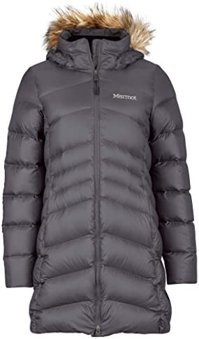 Marmot Montreal Women s Knee Length Down Puffer Coat Fill Power 700 Dark Steel Small product image