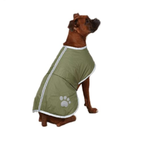 Zack & Zoey Nor'easter Blanket Coat for Dogs, 20'...