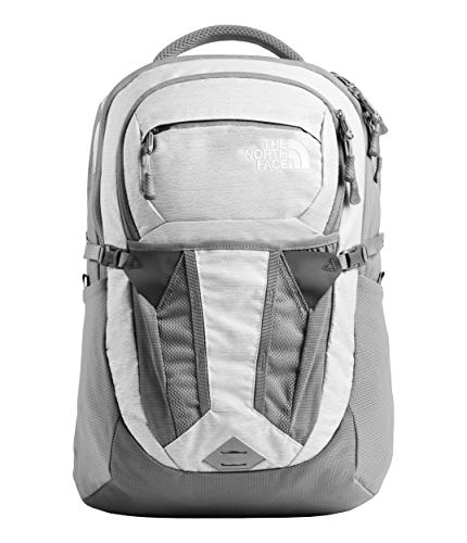 The North Face Women's Recon Backpack, TNF White Metallic Melange/Mid Grey, One Size