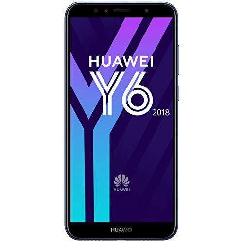 Huawei Y6 TIM(2018) (Smartphone 16GB, Android 8.0(OREO)) Blu