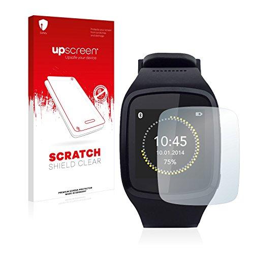 upscreen Schutzfolie kompatibel mit MyKronoz ZeSplash – Kristallklar, Kratzschutz, Anti-Fingerprint