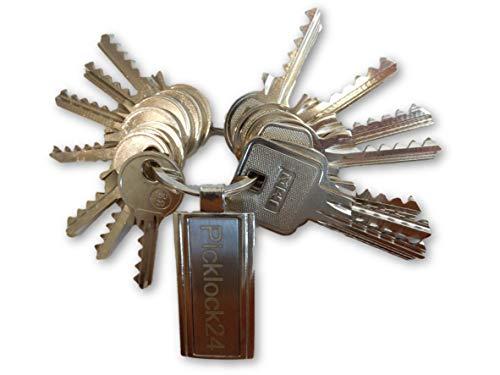 Picklock24 Set di chiavi ad urto Italia No. 1 (15 chiavi)