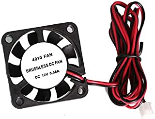 ouying1418 12V Brushless DC Cooling Fan 2pin For 3D Printer CPU GPU Extruder Cooling Fan